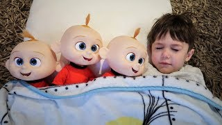 Zack Pretend Play Hide and Seek with Jack Jack Toy for Kids