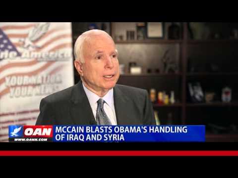 McCain Blasts Obama's Handling of Iraq, Syria