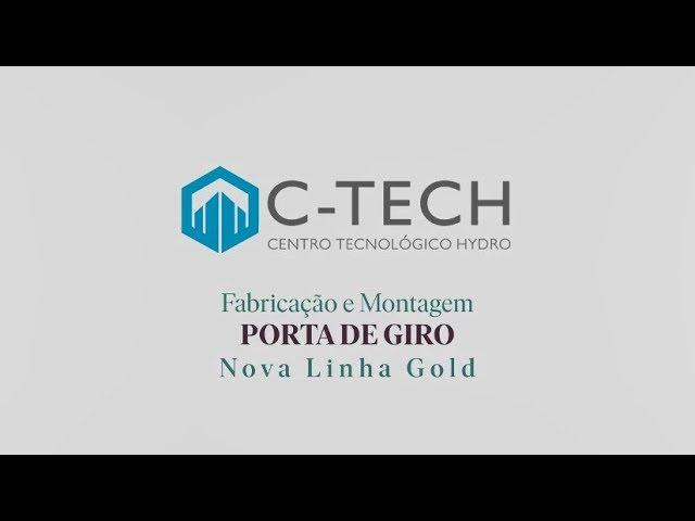 HYDRO Linha Nova Gold - Porta de Giro