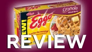 Eggo Granola Mixed Berry Waffle Video Review: Freezerburns (Ep533)