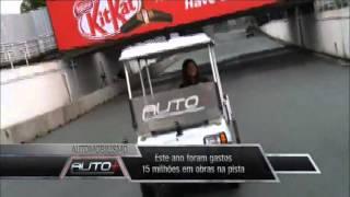 Um poderoso carrinho de golfe no circuito do Anhembi - CompactCar Thumbnail