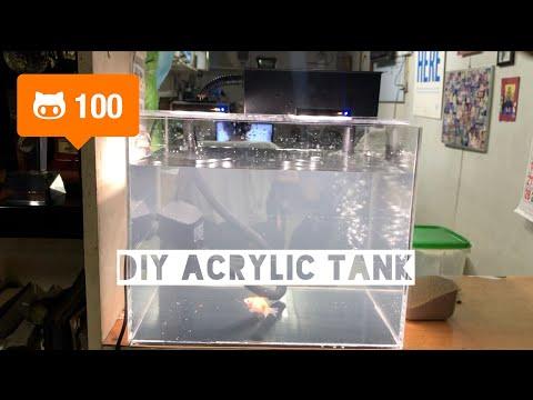 How To Make DIY Acrylic Aquarium (Step By Step)