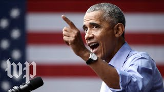 Obama campaigns for Nevada Democrats