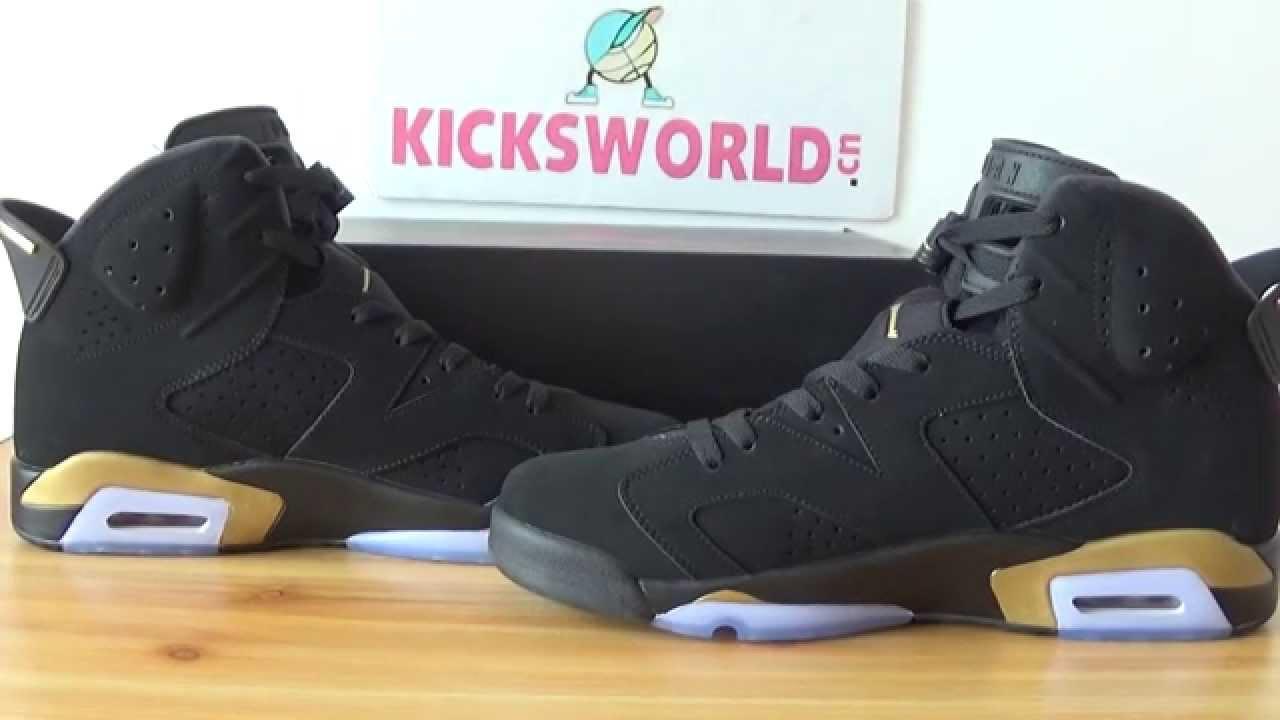 info for 7f1ea bf315 Jordan 6s Black Gold DMP (kicksworld)