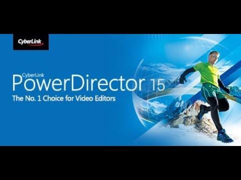 cyberlink powerdirector 15 crack keygen