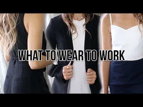 WHAT TO WEAR TO WORK: Huge Professional Try On Clothing Haul