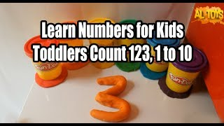 Learn Numbers for Kids Toddlers, Count 123, 1 to 10