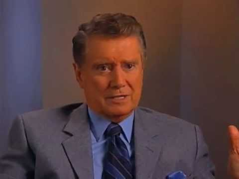 Regis Philbin on walking off
