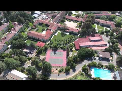 Drone Footage Clark Kerr 4k - UC Berkeley
