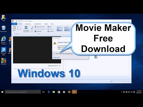 Windows 10: How to Download Windows Movie Maker & Install  Free & Easy