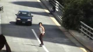 Danny Hernandez Eats Shit On His Skateboard