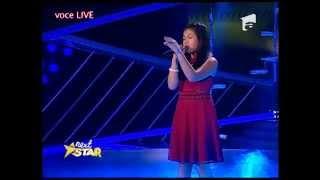 Arisxandra Libantino cântă fabulos la Next Star