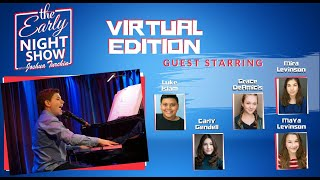 S2 Ep1 The Early Night Show (Carly Gendell, Luke Islam, Grace DeAmicis, Mira and Maya Levinson)