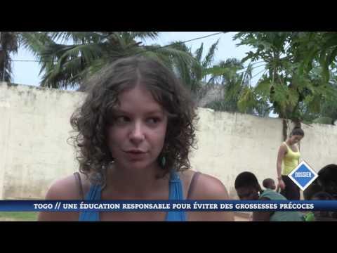 L'association LEA dans un reportage sur l'éducation sexuelle au Togo (New World Television)