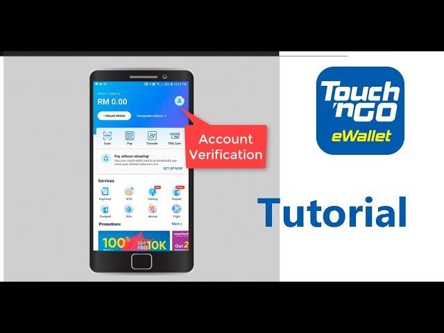 Cara Guna Touch N Go Ewallet App Youtube