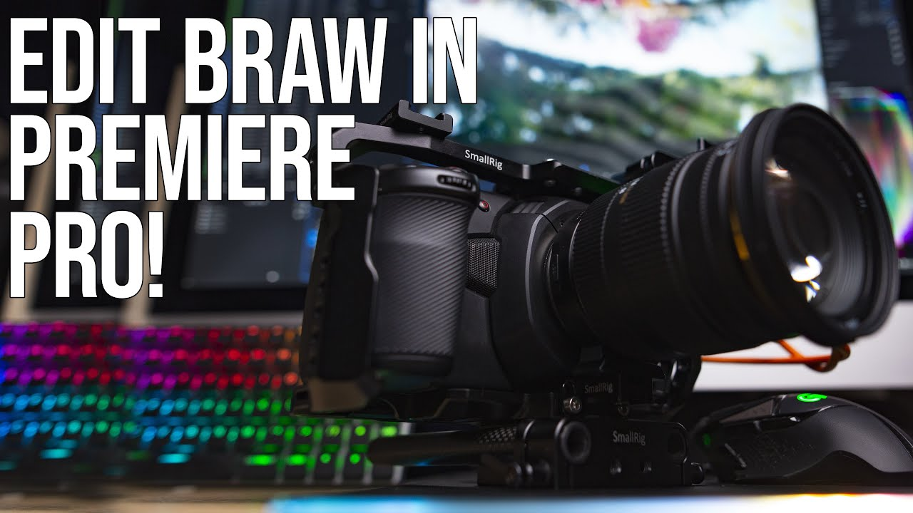 How To Edit Blackmagic RAW in Adobe Premiere Pro on a MAC!