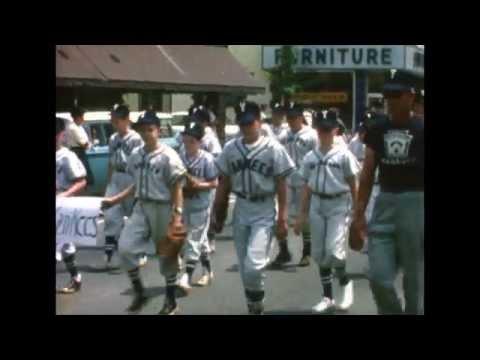 Suffern NY Baseball Parade & Game 1963