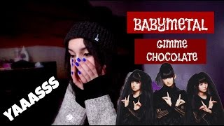 Watch me react to BABYMETAL GIMME CHOCOLATE, Cuteness overload wxhj...