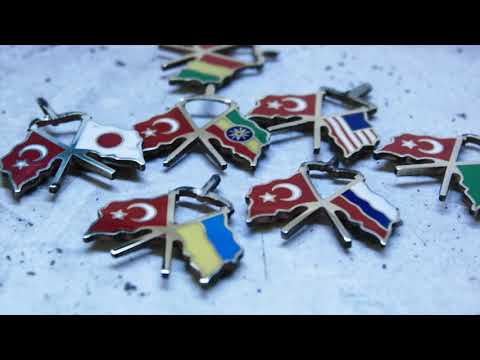 Making Of A Flag Pin - Jewelry Video