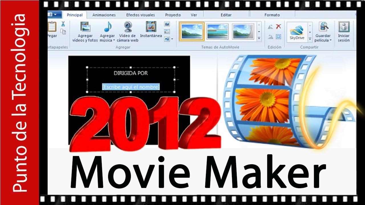 Como descargar el movie maker para windows 10