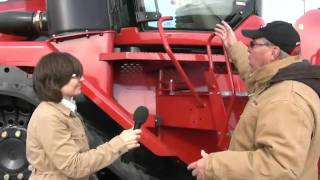 Highlights of the Case IH Steiger 600 tractor