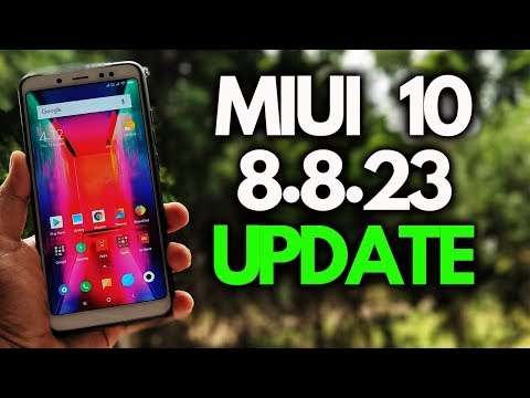 Download MIUI 10 8.8.23 update Redmi Note 5 Pro and Other MIUI Phones