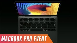 Apple's MacBook Pro event in 10 minutes