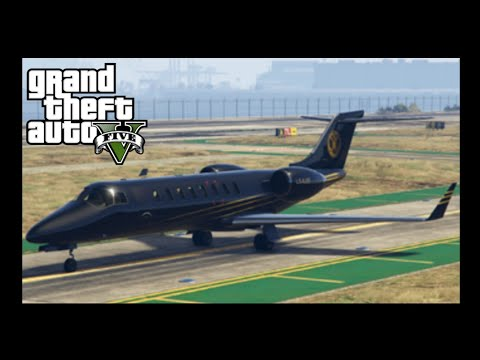 Purchasing Private plane and A new Hanger [Grand theft auto 5]
