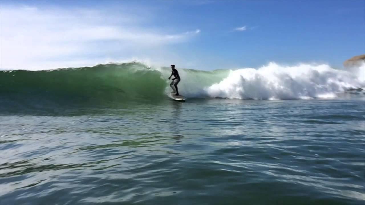 Good Harbor Beach Spring SUP Surf  YouTube