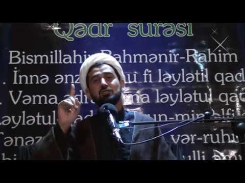 Haci Rza 2 ci Qədir gecəsi (1 ci hissə) 05.06.2018