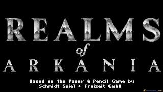 Realms of Arkania - Blade of Destiny gameplay (PC Game, 1992)