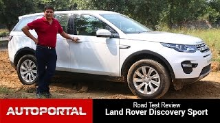 Land Rover Discovery Sport Test Drive Review - Auto Portal