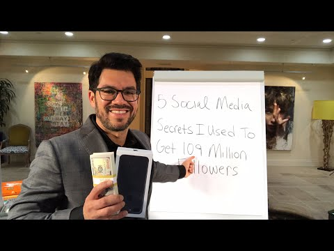 📱5 Social Media Secrets I Used To Get 10.9 Million Followers👥 tailopez.com/growfollowing