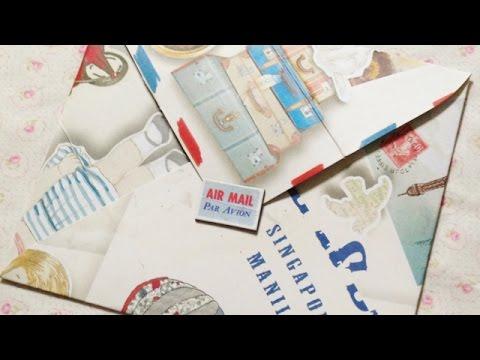 Make a Fun Paper Bag Envelope - Crafts - Guidecentral