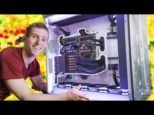 We FINISHED the $100,000 PC! - 6 Editors 1 CPU Pt. 5