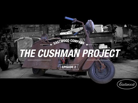 The Cushman Project - Can We Save The Scooter? Time For Some SERIOUS Rust Repair - Episode 2