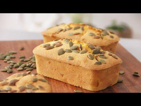 Pumpkin Butter Cake 南瓜奶油蛋糕 ll Apron