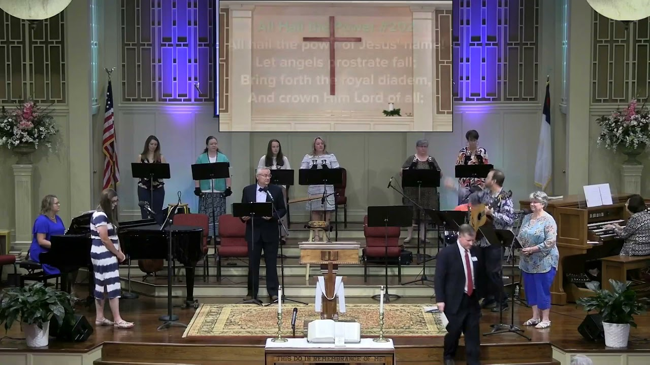 May 2, 2021 Service [Replacement] at First Baptist Thomson, Streaming License 201531172