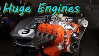 Huge And Strongest Engines Built For Classic Muscle Cars