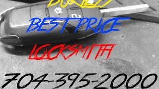 CHARLOTTE NC: 2000 HONDA ACCORD LOST KEY TRANSPONDER KEY