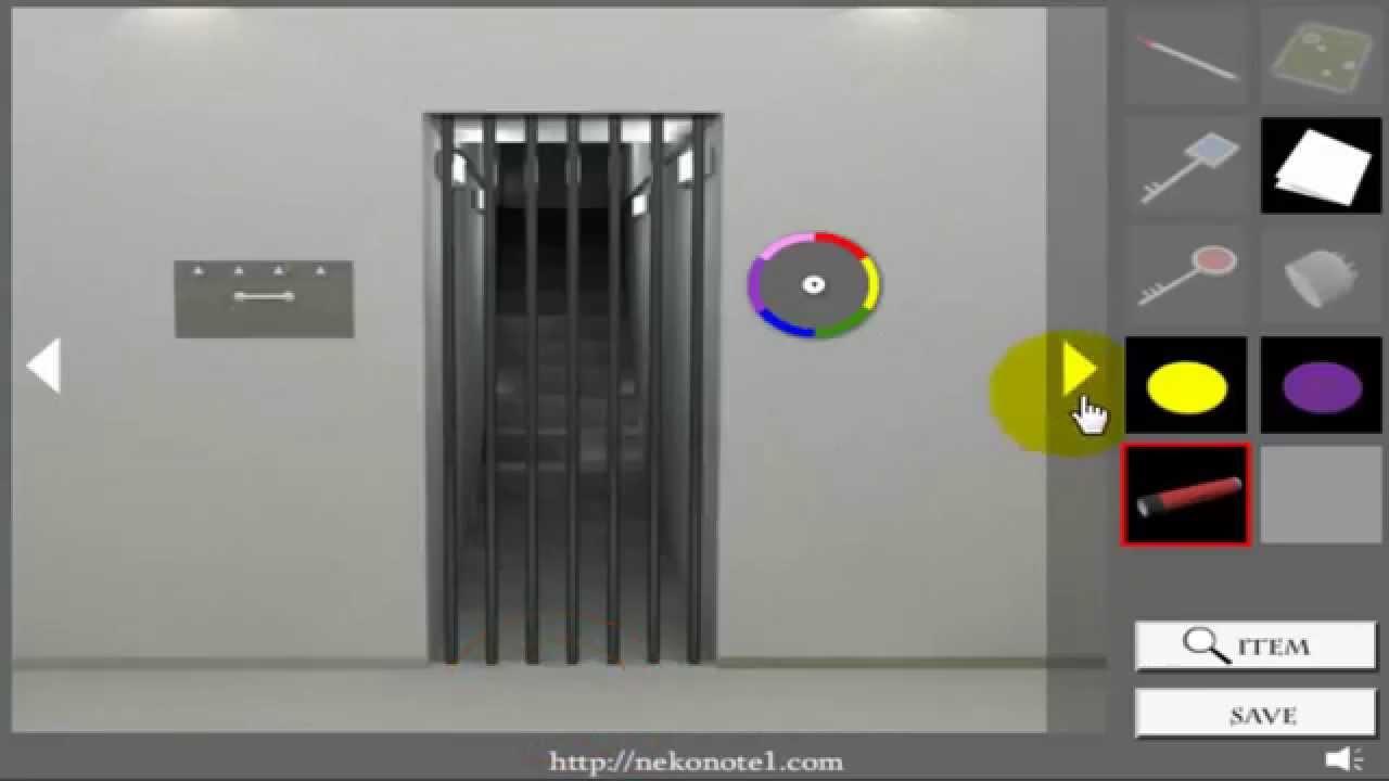 Locked room escape walkthrough nekonote youtube for Small room escape 6 walkthrough