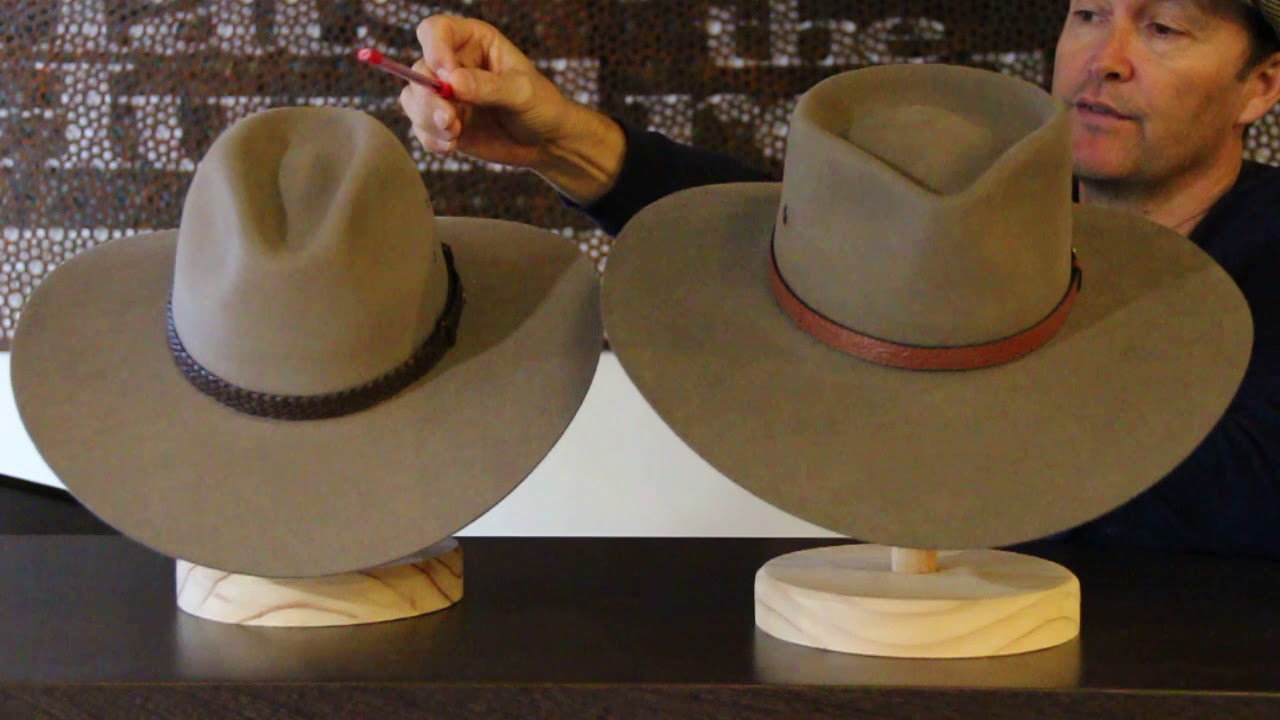 1f383e5c009 Akubra Territory Vs Riverina Hats - Hats By The 100 - YouTube