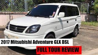2017 Mitsubishi Adventure GLX DSL    FULL TOUR REVIEW