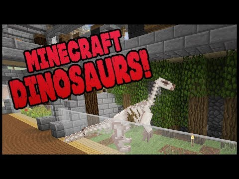 Minecraft Dinosaurs! || 499 || Museum Upgrade