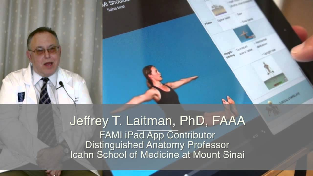 Ipad App Series Functional Anatomy For Movement Injuries Youtube