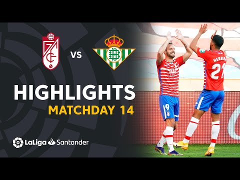 Granada Betis Goals And Highlights