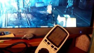 видео энергопотребление gtx 970