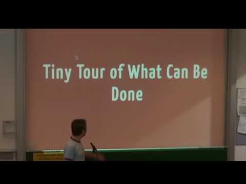 Creating Interactive Web Presentations - Gerald Senarclens de Grancy - Grazer Linuxtage 2016