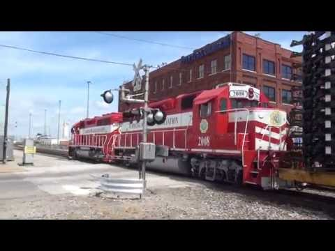 Trains Around The Metro East and St. Louis 7/30-31/2016