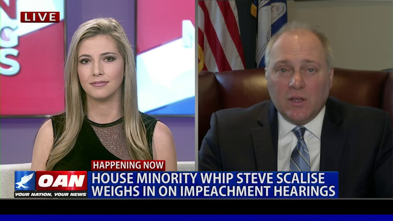 OAN House Minority Whip Steve Scalise discusses impeachment inquiry with OAN ahead of public hearing